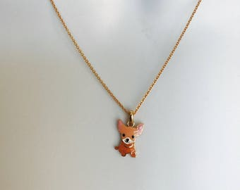 Dog Gone Cute  Chihuahua Necklace