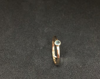 Alexandrite (Color Change) Round in Yellow Gold