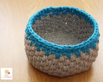 Crochet Crochet basket Bowl