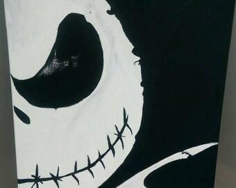 Nightmare Before Christmas Jack Skellington Original Painting JSO-100
