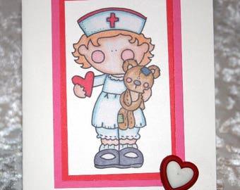 Little Nurse Card  20170319