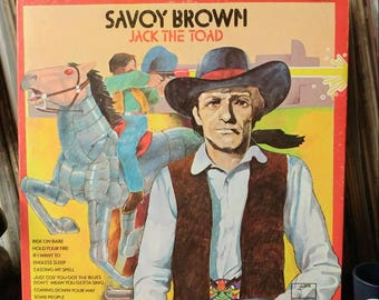 Savoy Brown - Vinyl Record Album -  Jack The Toad - 1973 - Parrot Label - London Records - Gatefold Cover