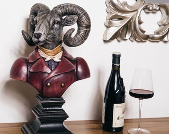 Lord of the Manor Ram Bust