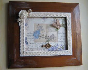 Adorable frame romantic shabby spirit