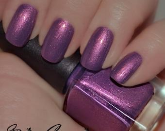 Lundi Gras - Purple Duochrome Sparkle Nail Polish
