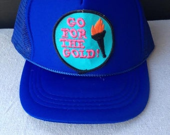 Go For the Gold Trucker Hat
