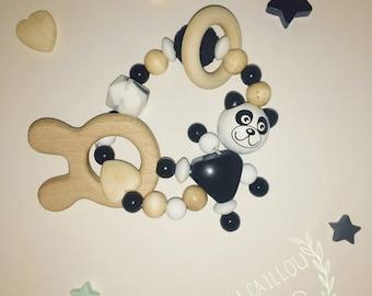 Rattle organic panda