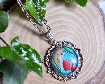 Chep - Original Art BubbleWorld Pendant Four - Jewellery - Necklace