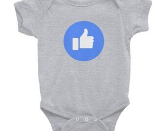 "Facebook ""Like"" Infant Bodysuit"