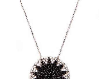Silver Starburst Necklace