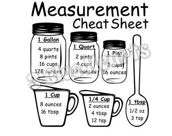 Measurement Cheat Sheet SVG Studio DXf pdf , Cutting Board SVG Studio Dxf pdf , Cooking svg studio Dxf pdf , kitchen svg studio DXfpdf