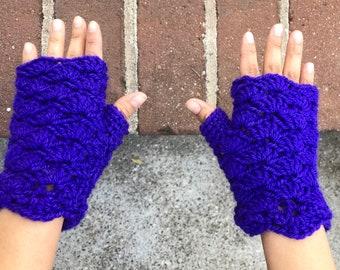 Adriana Gloves- Pattern for Fingerless Crocheted Gloves