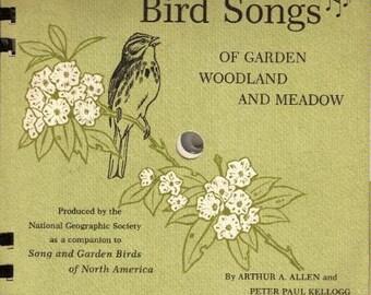 Bird Songs of GARDEN WOODLAND and MEADOW - 1964
