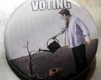 VOTING    pinback buttons badges pack!