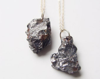 Meteorite Necklace OOAK, Celestial Jewelry