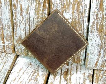 Mens Leather Wallet / Leather Wallet for Men /  / Mens Bifold Wallet / Mens Gift / Slim Leather Wallet / Mens Biker Wallet
