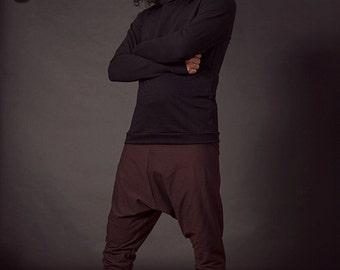 Ankou Hoodie, Hoodie, Men's Hoodie, Festival Clothing, Men's Festival Clothes, Men's Yoga Wear, Men's Yoga, Hemp Clothing, Men's Organic