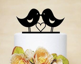 Love Bird Topper,Wedding Cake Topper,Wedding Decor,Acrylic Wedding Topper-P027