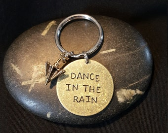 Dance In The Rain --- Hand Stamped --- Loved Ones
