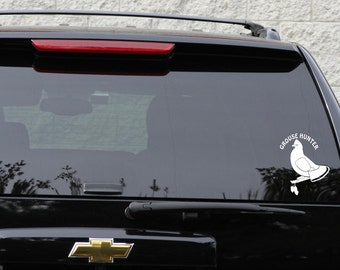 Grouse hunter decal