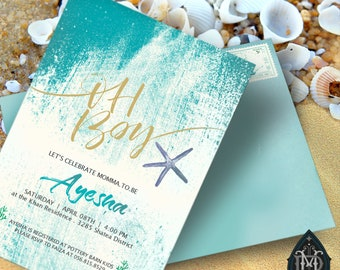 Oh Boy | Baby Shower | PRINTABLE & CUSTOMIZABLE