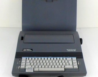 Vintage SMITH CORONA Model 5P Spell Right Dictionary Deville 125 Electric Typewriter Made in USA
