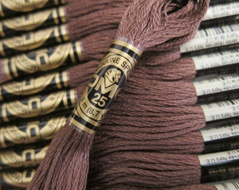 839, Dark Beige Brown, DMC Cotton Embroidery Floss - 8m Skeins - Available in Full (12-skein) Boxes - Get Up To 50% OFF, see Description
