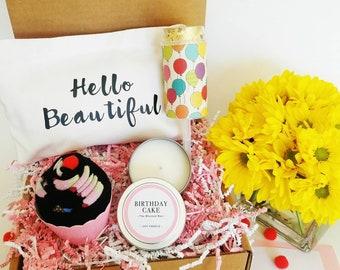 Birthday Gift Basket. Best Friend Birthday Gift. Birthday Gift For Her. Birthday Gift Box. Birthday Box For Her.