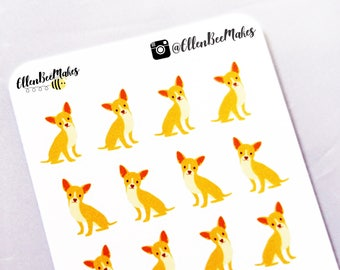 Chihuahua Dog Decorative Stickers