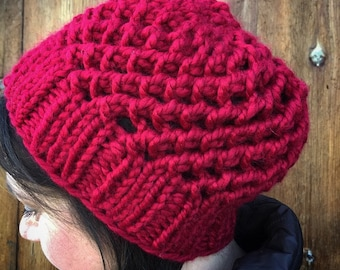 Chunky Knit Hat - AVAILABLE IN 24 COLORS