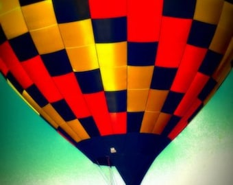 Hot Air Balloon Photography - Balloon - Balloon Decor - Hot Air Balloon - Fine Art Photography