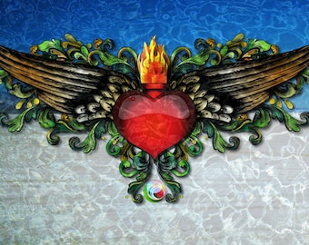 Note Cards Wings of Love