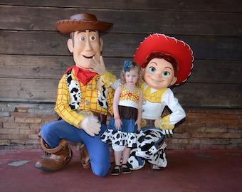 Custom Boutique Clothing  Jessie Toy Story Inspired  Sassy Girl Dress