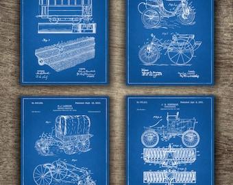 Car blueprint etsy blueprint car patent malvernweather Images