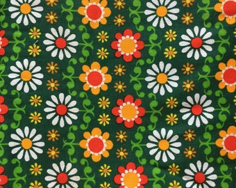 Vintage european cotton fabric