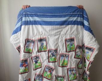 Vintage '80s MLB Full Sized Comforter, 1989 Major League Baseball Blanket