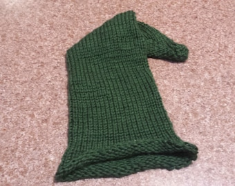 Forest Green Elf Hat