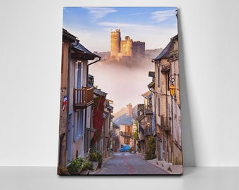 France Streetview Poster or Canvas