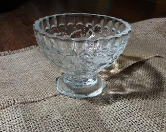 Soviet vintage glass vase