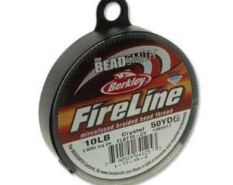 10lb Fireline Crystal Thread .008in/0.20mm 50 YRD