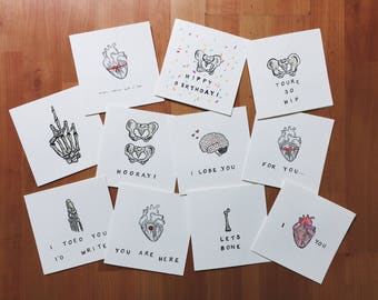 Handpainted Greeting Cards - SOLD OUT (Temporarily)