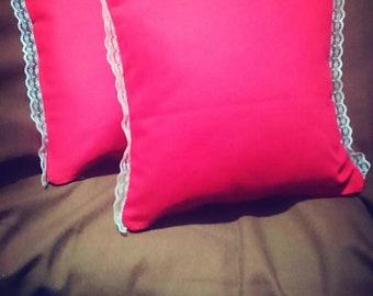 Luxury Lace Handmade Cushion