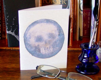 Skull Pocket Notebook - Memento Mori - Goth Journal
