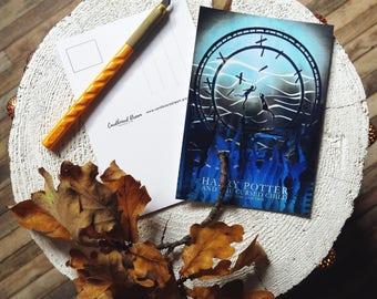Postcard | Harry Potter and the Cursed Child | Postcrossing | original design | papercutting | artwork | decor