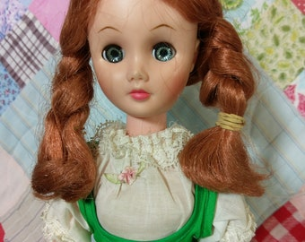 "15"" Vermont Maid Syrup Doll by Uneeda doll company 1960's"