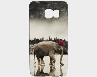 iphone 6 case 7 Plus iPhone 6S iphone 5 5S Case Elephant Art Galaxy S6 S7 Edge Made in Montreal Cellphone Case Gear - Master of Ceremonies