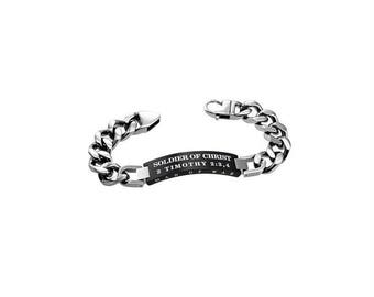 "Knight Bracelet ""Solider Of Christ"""