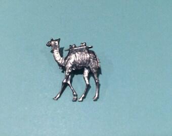 Bezalel Palestine Camel 925 SS Antique Judaica