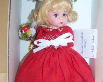 Seasons Greetings Madame Alexander 8 in