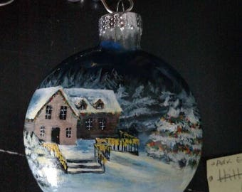 Hand-painted Christmas Ornaments *Sold Out*